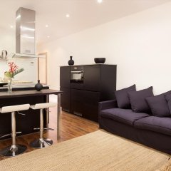 Апартаменты Centric Apartment Plaza Espana Fira Monjuic Барселона комната для гостей фото 3