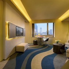 Отель Sofitel Shanghai Hyland 4* Улучшенный номер с различными типами кроватей фото 7
