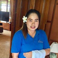 Отель Baan Laem Noi Villas интерьер отеля фото 3