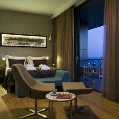 Radisson Blu Hotel Istanbul Asia 5* Стандартный номер с различными типами кроватей фото 6