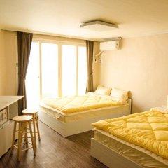 YaKorea Hostel Hongdae Стандартный номер с двуспальной кроватью фото 5