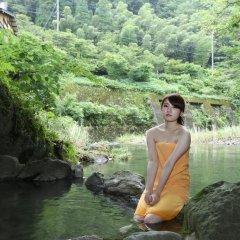 Отель Ryokan Fukumotoya Минамиогуни бассейн
