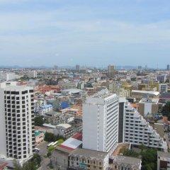 Отель Centric Sea Pattaya Апартаменты с различными типами кроватей фото 6