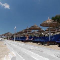 Hotel Nertili пляж фото 2