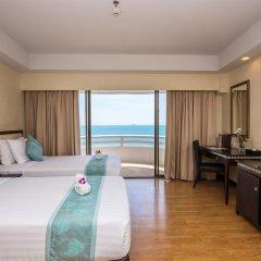 Отель D Varee Jomtien Beach 4* Улучшенный номер с различными типами кроватей фото 13
