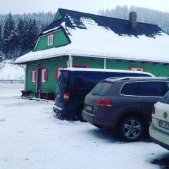 Гостиница SKI Xata парковка