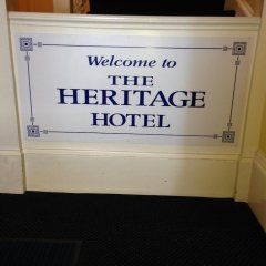 The Heritage Hotel Глазго сейф в номере