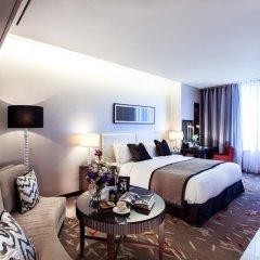 Отель Oakwood Premier Coex Center Студия с различными типами кроватей фото 4