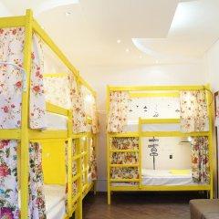 Отель Жилое помещение Скворечник Кровать в общем номере фото 2