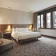Отель Hilton Milan 4* Стандартный номер с различными типами кроватей фото 9