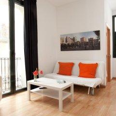 Отель Aspasios Verdi Apartments Испания, Барселона - отзывы, цены и фото номеров - забронировать отель Aspasios Verdi Apartments онлайн комната для гостей фото 5