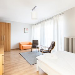 Отель Apartment4you Wilcza Студия с различными типами кроватей фото 7