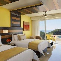 Отель Secrets Huatulco Resort & Spa 4* Полулюкс с различными типами кроватей фото 4