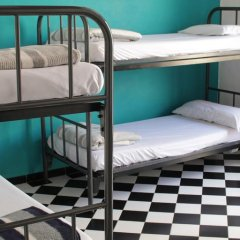 Hostel New York Кровать в общем номере с двухъярусной кроватью фото 9