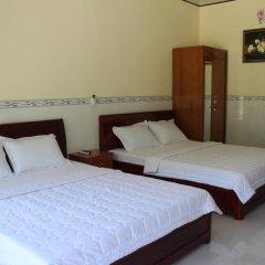 Отель Hoa Nhat Lan Bungalow 2* Стандартный номер с различными типами кроватей фото 5