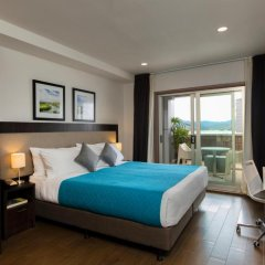 Апартаменты Quest Apartments Suva Студия Делюкс с различными типами кроватей фото 3