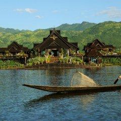 Отель Myanmar Treasure Resort Inle 4* Номер Делюкс с различными типами кроватей фото 3