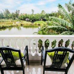 Отель Coconut Hamlet Homestay балкон