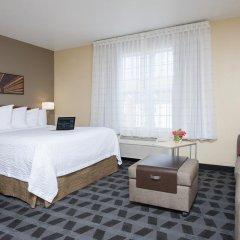 Отель TownePlace Suites by Marriott Indianapolis - Keystone Студия с различными типами кроватей фото 2