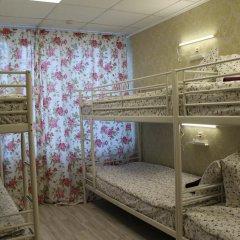 Хостел Ника-Сити Кровати в общем номере с двухъярусными кроватями фото 13