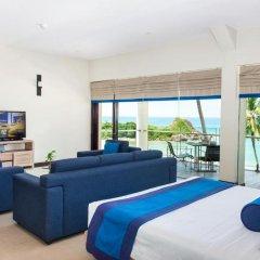 Shinagawa Beach Hotel 4* Стандартный номер с различными типами кроватей фото 5