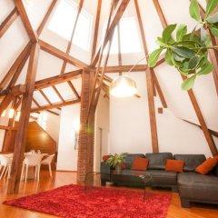 Отель Luxury Loft Прага комната для гостей фото 2