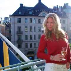 Hotel Drottning Kristina балкон