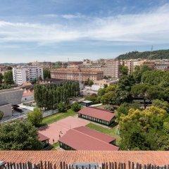 Отель Maxxi Penthouse Италия, Рим - отзывы, цены и фото номеров - забронировать отель Maxxi Penthouse онлайн балкон