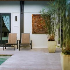 Отель Two Villas Holiday Oriental Style Layan Beach 4* Вилла с различными типами кроватей фото 14