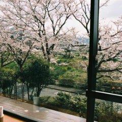 Aso Hotel Минамиогуни балкон