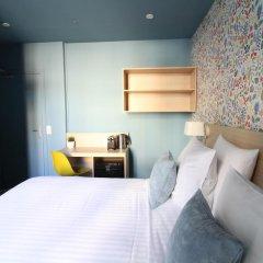 Отель Hôtel Du Centre 2* Стандартный номер с различными типами кроватей