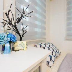 Отель Stay Now Guest House Hongdae Стандартный семейный номер с двуспальной кроватью фото 11