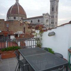 Отель La Terrazza San Lorenzo Италия, Флоренция - отзывы, цены и фото номеров - забронировать отель La Terrazza San Lorenzo онлайн балкон