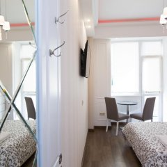 Апартаменты на Бронной Студия разные типы кроватей фото 3