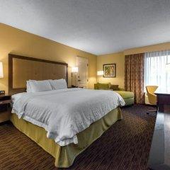 Отель Hampton Inn Meridian 2* Стандартный номер с различными типами кроватей фото 24