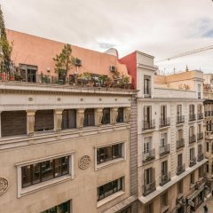 Отель Santa Ana Star Мадрид балкон