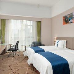Отель Holiday Inn Express Chengdu West Gate 3* Стандартный номер с различными типами кроватей фото 2