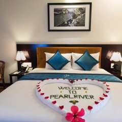 Pearl River Hoi An Hotel & Spa 3* Номер Делюкс с различными типами кроватей фото 9