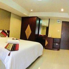 Отель Riski Residence Charoen Krung 2* Стандартный номер с различными типами кроватей фото 3