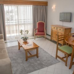 Luna Hotel Da Oura 4* Апартаменты с различными типами кроватей фото 4