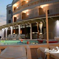 Отель Merlin Park Resort Тирана бассейн фото 3