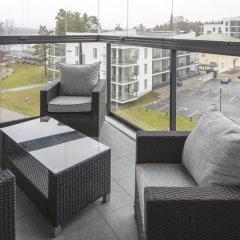 Отель Holiday Club Saimaa Superior Apartments Финляндия, Лаппеэнранта - отзывы, цены и фото номеров - забронировать отель Holiday Club Saimaa Superior Apartments онлайн балкон