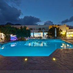 Отель Bali Paradise Hotel Греция, Милопотамос - отзывы, цены и фото номеров - забронировать отель Bali Paradise Hotel онлайн бассейн фото 2
