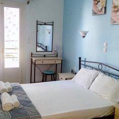 Galini Hotel Стандартный номер с различными типами кроватей фото 9