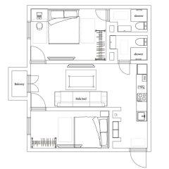 Гостиница Minsklux Apartment 2 Беларусь, Минск - отзывы, цены и фото номеров - забронировать гостиницу Minsklux Apartment 2 онлайн удобства в номере
