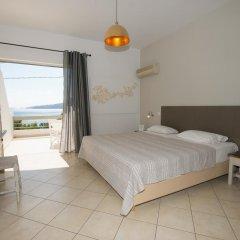 Отель Panorama Apartments Греция, Порос - 1 отзыв об отеле, цены и фото номеров - забронировать отель Panorama Apartments онлайн комната для гостей фото 3