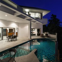 Отель Villa Sea View Таиланд, Самуи - отзывы, цены и фото номеров - забронировать отель Villa Sea View онлайн бассейн фото 3
