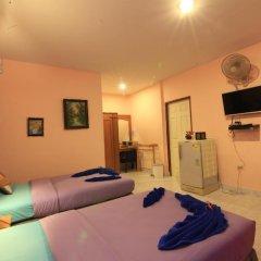 Отель Saladan Beach Resort 3* Бунгало с различными типами кроватей фото 19