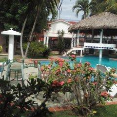 Отель Residencial Las Tejas бассейн