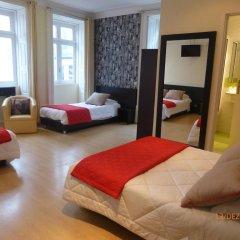 Hotel do Norte 2* Стандартный семейный номер с двуспальной кроватью фото 4